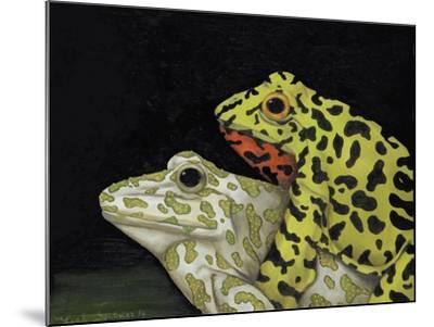 Horny Toads 3-Leah Saulnier-Mounted Giclee Print