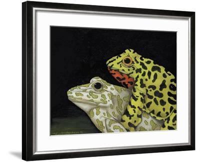 Horny Toads 3-Leah Saulnier-Framed Giclee Print