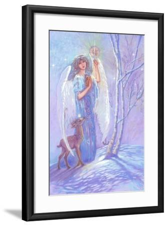 Guardian Angel of Winter-Judy Mastrangelo-Framed Giclee Print