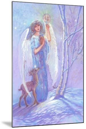 Guardian Angel of Winter-Judy Mastrangelo-Mounted Giclee Print