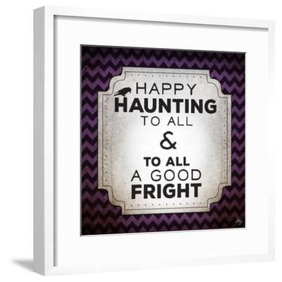 Happy Haunting-Kimberly Glover-Framed Premium Giclee Print