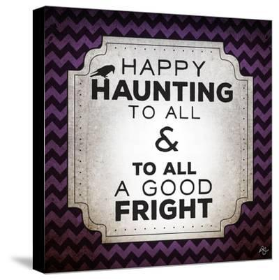 Happy Haunting-Kimberly Glover-Stretched Canvas Print