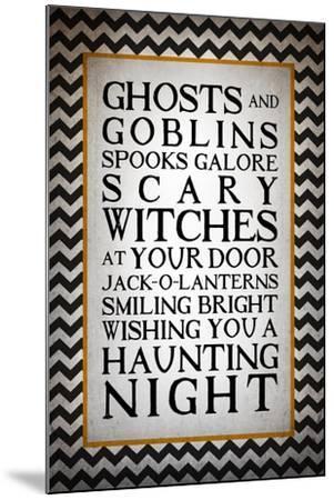 Haunting Night-Kimberly Glover-Mounted Giclee Print