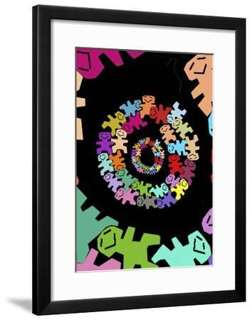 So Happy-Miguel Balb?s-Framed Giclee Print