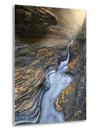 Flow-Moises Levy-Metal Print
