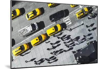 Shadows in NY-Moises Levy-Mounted Photographic Print