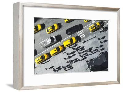 Shadows in NY-Moises Levy-Framed Photographic Print
