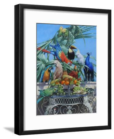 Who Let the Birds Out-Michael Jackson-Framed Giclee Print 45864236e
