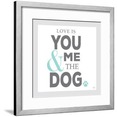 You Me and the Dog-Kimberly Glover-Framed Giclee Print