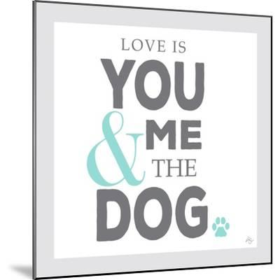 You Me and the Dog-Kimberly Glover-Mounted Giclee Print
