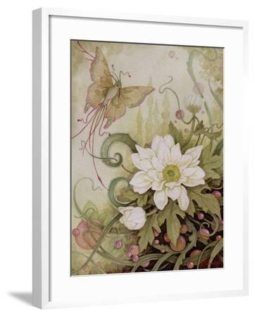 Mystic Garden Study-Linda Ravenscroft-Framed Giclee Print
