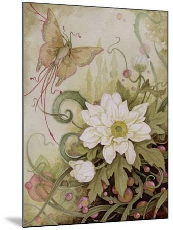 Mystic Garden Study-Linda Ravenscroft-Mounted Giclee Print