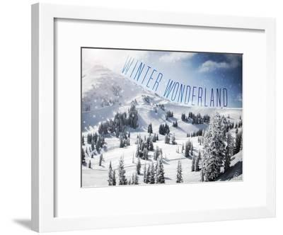 Winter Wonderland-Kimberly Glover-Framed Premium Giclee Print
