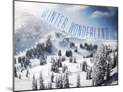 Winter Wonderland-Kimberly Glover-Mounted Premium Giclee Print