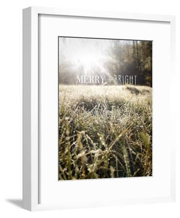 Merry and Bright-Kimberly Glover-Framed Premium Giclee Print