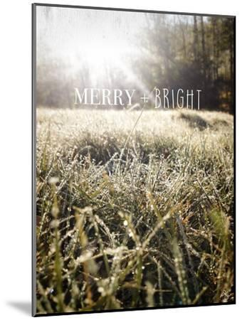 Merry and Bright-Kimberly Glover-Mounted Premium Giclee Print