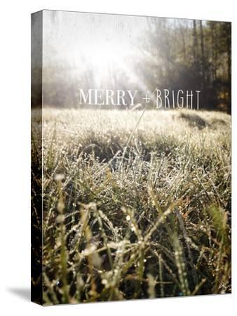 Merry and Bright-Kimberly Glover-Stretched Canvas Print