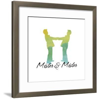 Mister and Mister-Tina Lavoie-Framed Giclee Print