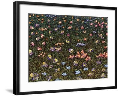 Wildflowers-James W. Johnson-Framed Giclee Print