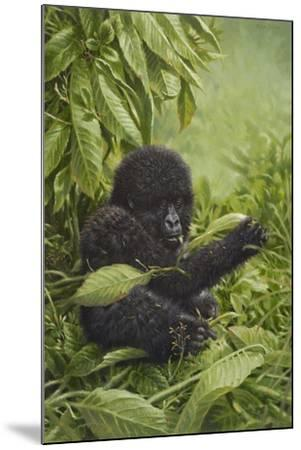 Prince of the Virungas-Michael Jackson-Mounted Giclee Print