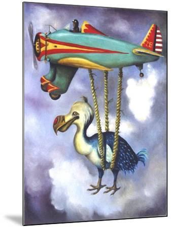 Lazy Bird W Dodo-Leah Saulnier-Mounted Giclee Print
