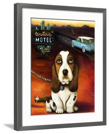 Did You Forget Something-Leah Saulnier-Framed Giclee Print
