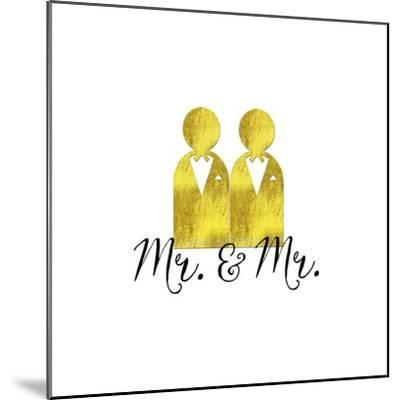 Wedding Couple Mr Mr-Tina Lavoie-Mounted Giclee Print