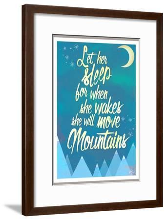 She Will Move Mountains 2-Kimberly Glover-Framed Premium Giclee Print