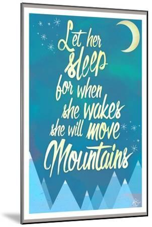 She Will Move Mountains 2-Kimberly Glover-Mounted Premium Giclee Print