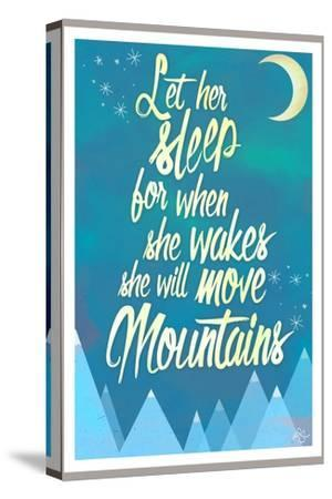 She Will Move Mountains 2-Kimberly Glover-Stretched Canvas Print