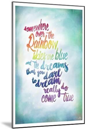 Over the Rainbow-Kimberly Glover-Mounted Premium Giclee Print