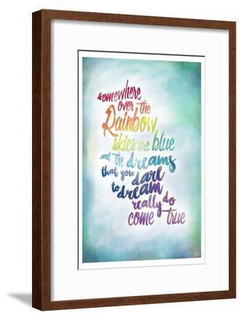 Over the Rainbow-Kimberly Glover-Framed Premium Giclee Print