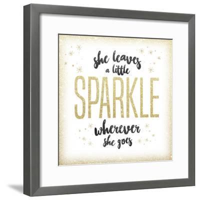 She leaves a sparkle 1-Kimberly Glover-Framed Premium Giclee Print