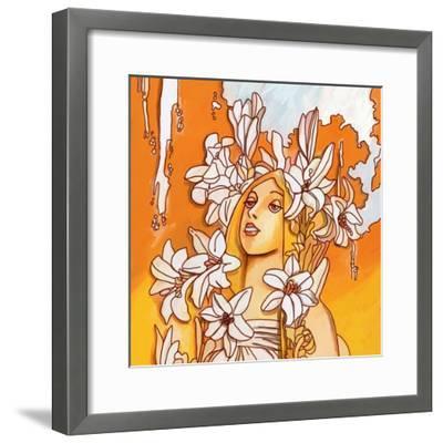 Mucha Lady 116 3-Howie Green-Framed Giclee Print