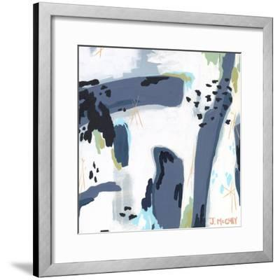 Mystic Fog Abstract-Jennifer McCully-Framed Giclee Print