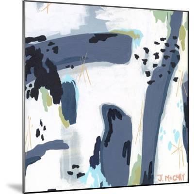 Mystic Fog Abstract-Jennifer McCully-Mounted Giclee Print