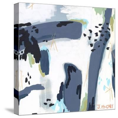 Mystic Fog Abstract-Jennifer McCully-Stretched Canvas Print