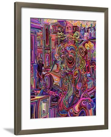 The Giraffe Lady-Josh Byer-Framed Giclee Print