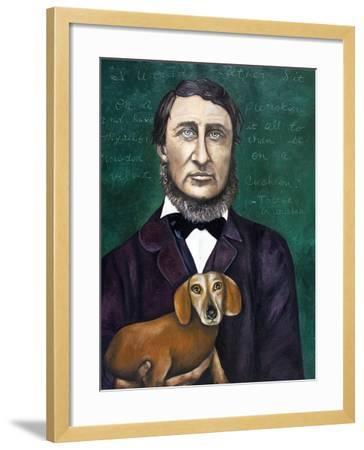 Thoreau-Leah Saulnier-Framed Giclee Print