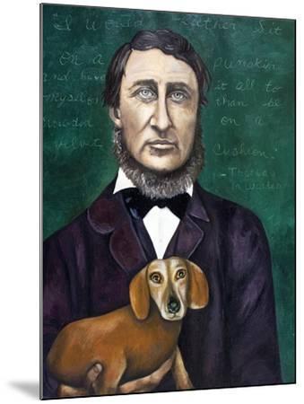 Thoreau-Leah Saulnier-Mounted Giclee Print