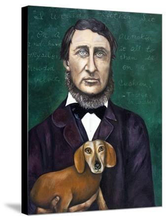 Thoreau-Leah Saulnier-Stretched Canvas Print