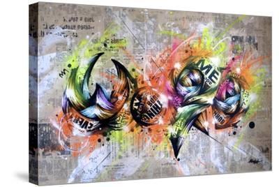 Word-Taka Sudo-Stretched Canvas Print