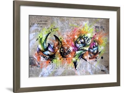 Word-Taka Sudo-Framed Giclee Print