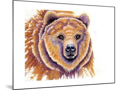 Grizzly Bear-Michelle Faber-Mounted Giclee Print