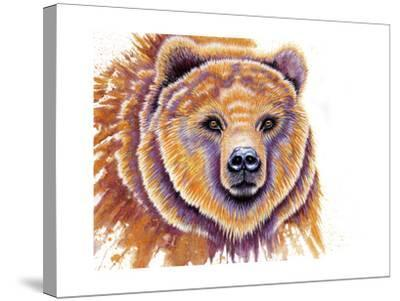 Grizzly Bear-Michelle Faber-Stretched Canvas Print