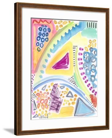 The Process - Watercolor-Jennifer McCully-Framed Giclee Print