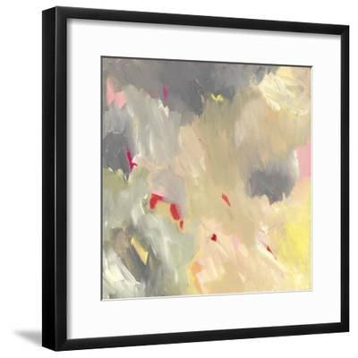 The Storm - Abstract-Jennifer McCully-Framed Giclee Print