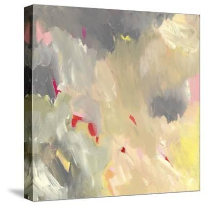 The Storm - Abstract-Jennifer McCully-Stretched Canvas Print