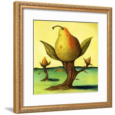 Pear Trees 2-Leah Saulnier-Framed Giclee Print