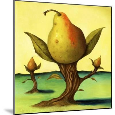 Pear Trees 2-Leah Saulnier-Mounted Giclee Print